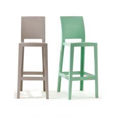 One More Please - Sgabello Kartell di design, in policarbonato, altezza seduta 65 o 75 cm, anche per giardino