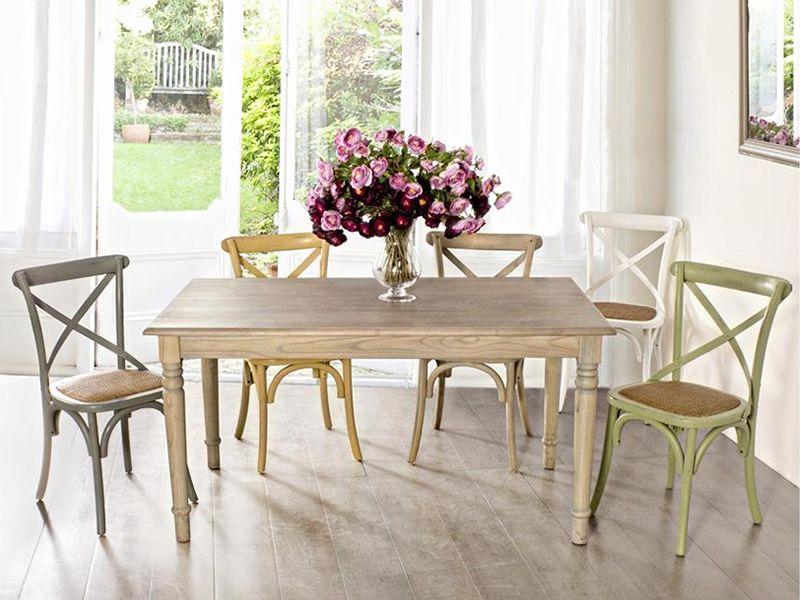 Malva sedia shabby chic in legno disponibile in diversi - Tavolo shabby chic ...