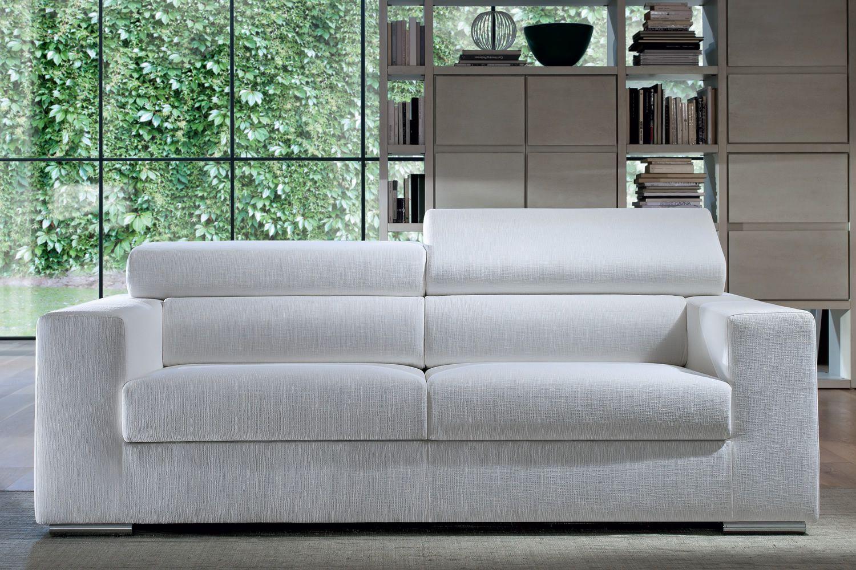 gala geradliniges sofa mit neigbarer kopfst tze ganz abziehbar in verschiedenen gr en und. Black Bedroom Furniture Sets. Home Design Ideas