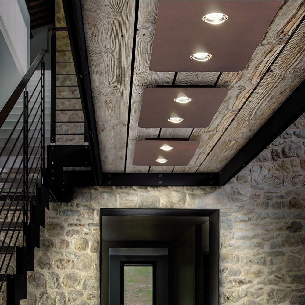 Frozen lampada a soffitto di design in metallo led for Lampada ufficio design