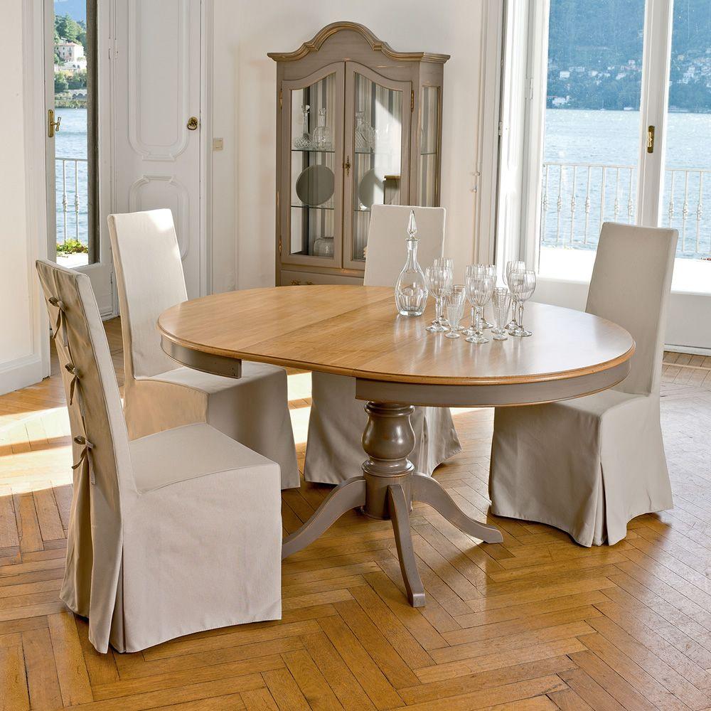 arago 4327 klassischer runder holztisch tonin casa in. Black Bedroom Furniture Sets. Home Design Ideas