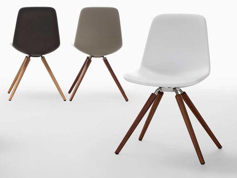 Step chaise design tonon en bois et polyur thane - Chaises contemporaines design ...