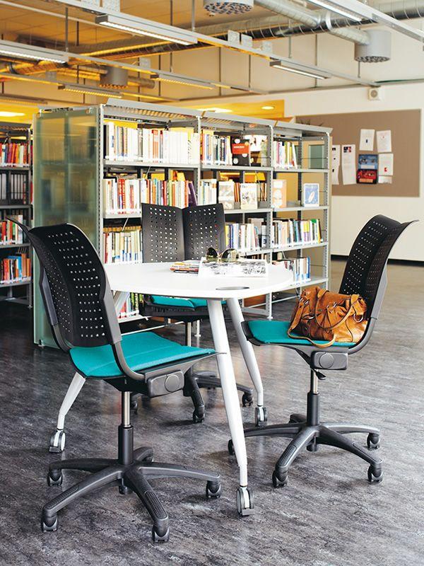Conventio wing 3 silla de oficina h g con coj n for Cojin para silla de oficina