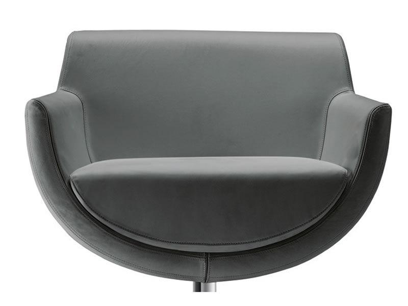 sphere design drehsessel von tonon aus leder oder stoff. Black Bedroom Furniture Sets. Home Design Ideas