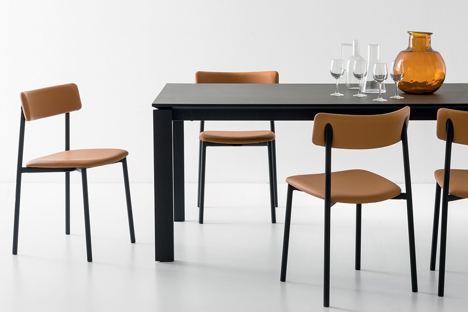 CB1955 Up! - Sedia Connubia - Calligaris in metallo, seduta ...