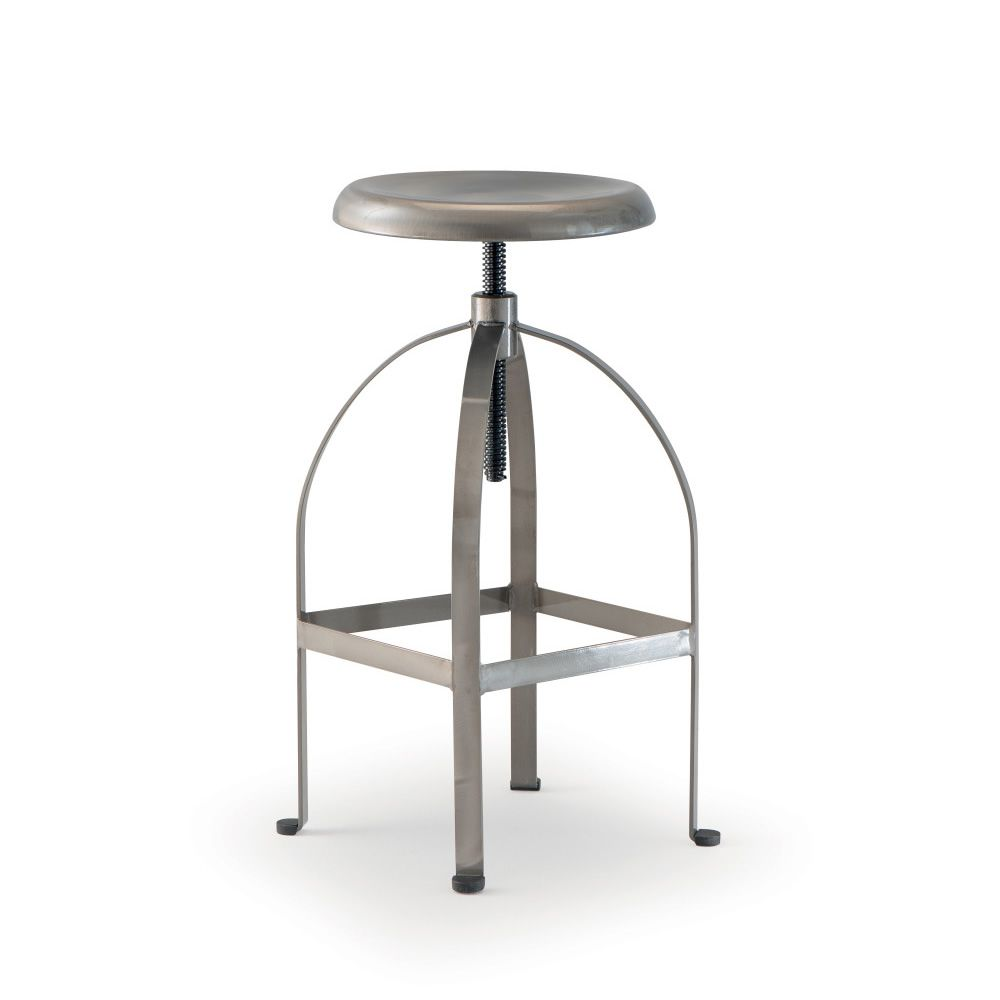 tt883 tabouret pivotant et r glable en hauteur en m tal sediarreda. Black Bedroom Furniture Sets. Home Design Ideas
