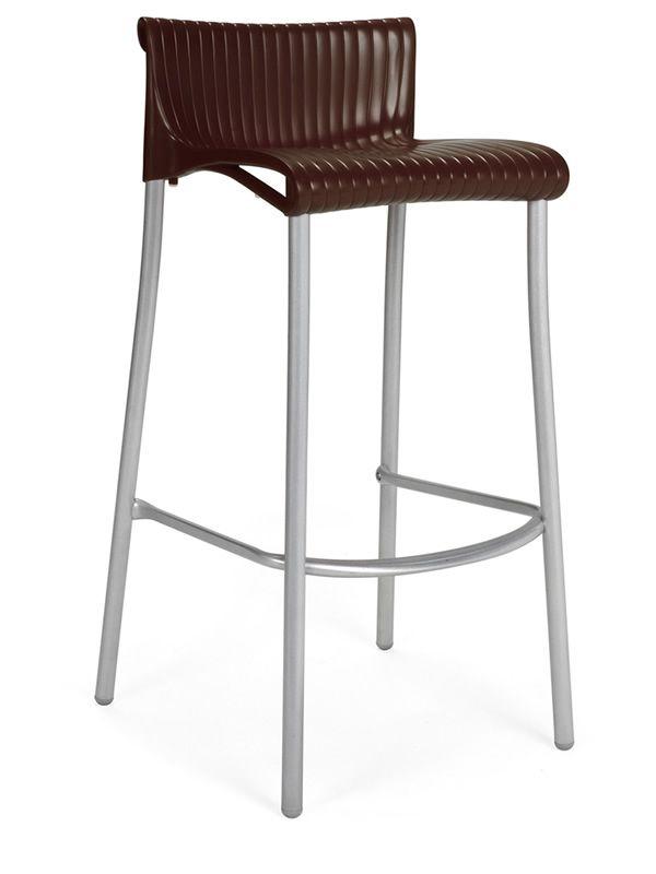 duca pour bars et restaurants tabouret en m tal assise. Black Bedroom Furniture Sets. Home Design Ideas