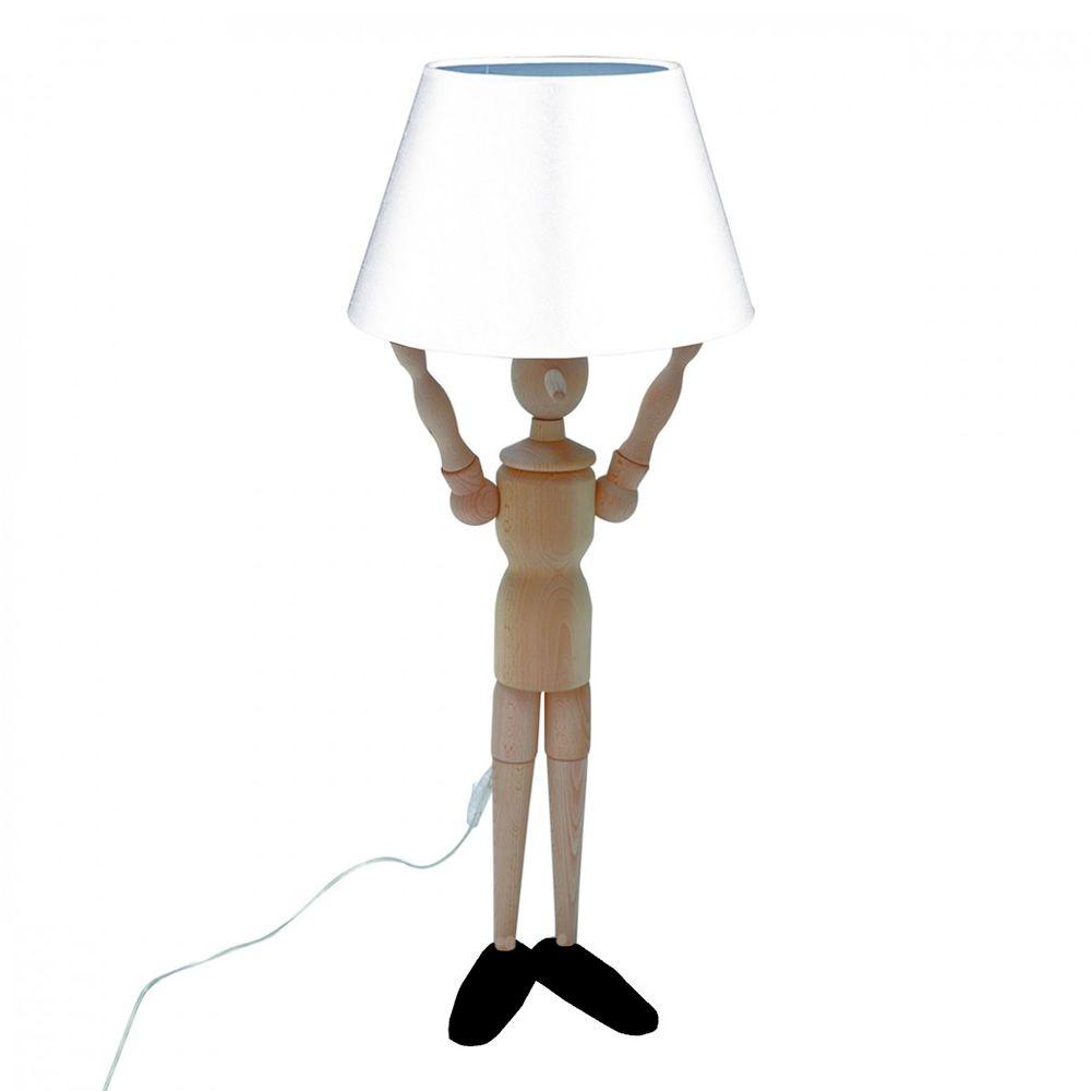 Pinocchio l lampada da terra valsecchi in legno con - Immagine di terra a colori ...