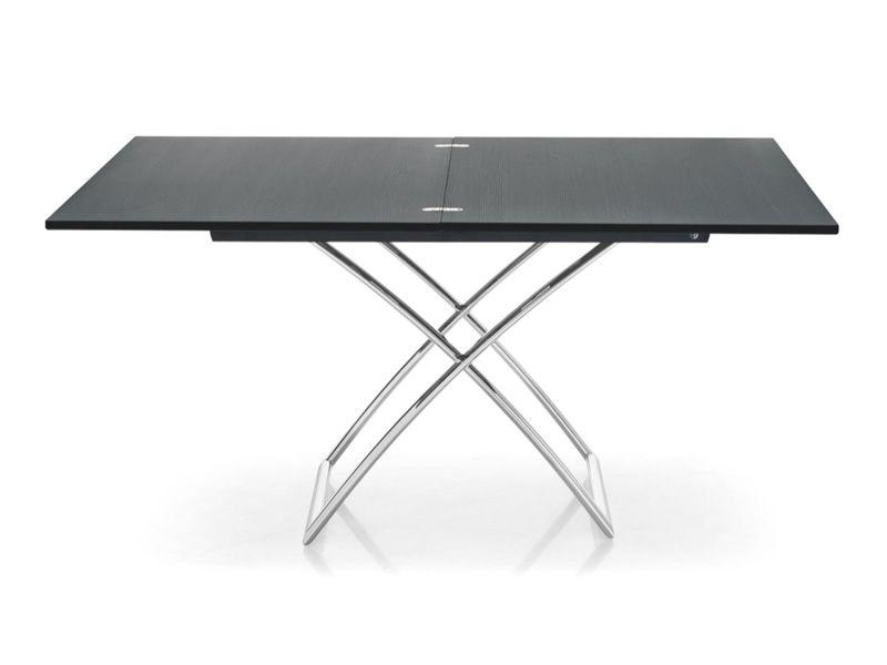 cb5041 w magic j table rallonge et rglable en hauteur en mtal - Table Reglable En Hauteur Avec Rallonge