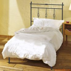 Amalfi - Single bed in wrought-iron, several colours available