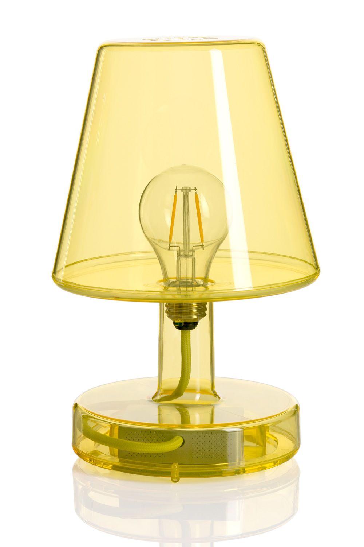 transloetje tischlampe fatboy aus transparentem. Black Bedroom Furniture Sets. Home Design Ideas