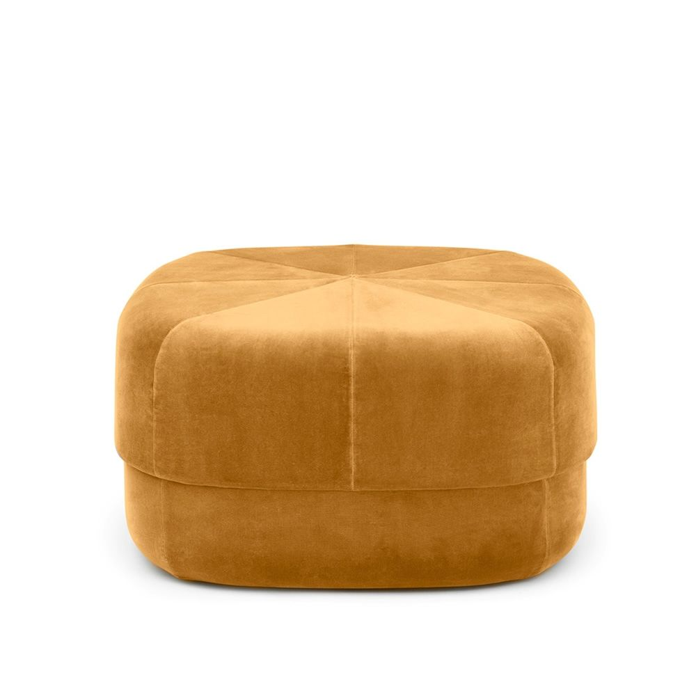 circus pouf normann copenhagen mit samt bezogen in. Black Bedroom Furniture Sets. Home Design Ideas