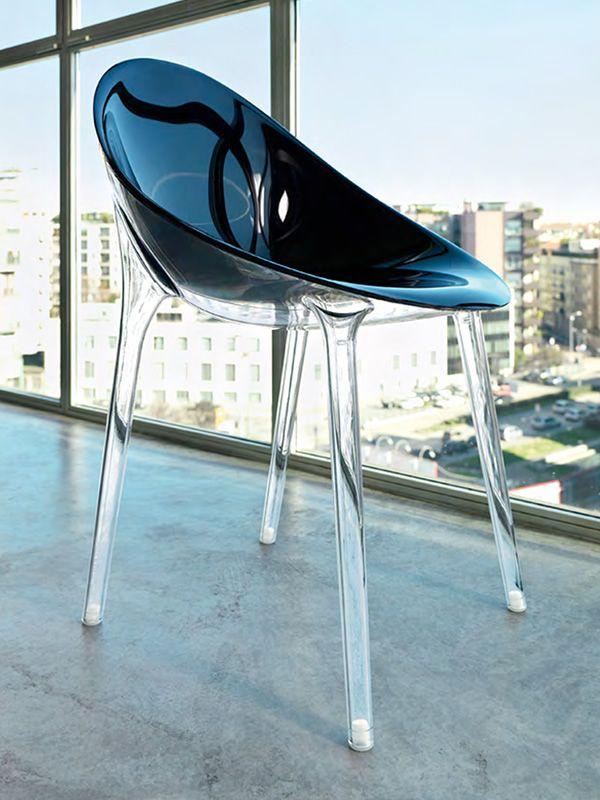 mr impossible design stuhl kartell aus polycarbonat auch au engeeignet auch f r garten. Black Bedroom Furniture Sets. Home Design Ideas