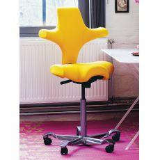 Capisco ® 8106 - Ergonomischer Bürostuhl von HÅG, Settelförmiger Sitz, verschiedene Farben