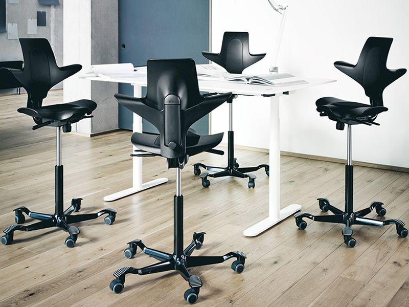 Sedie Da Ufficio Moderne : Capisco puls sedia ufficio hÅg con seduta a sella disponibile