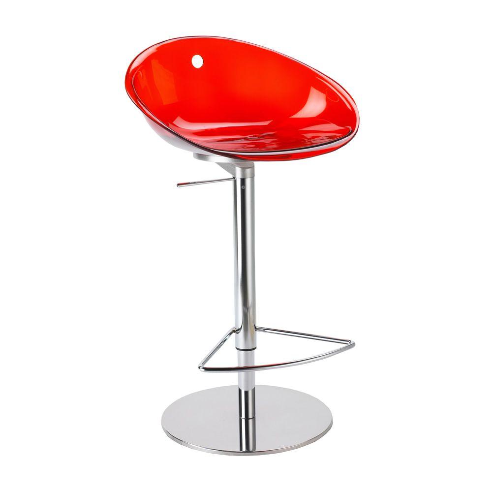 gliss 970 pour bars et restaurants tabouret de bar en m tal et polycarbonate tournant et. Black Bedroom Furniture Sets. Home Design Ideas