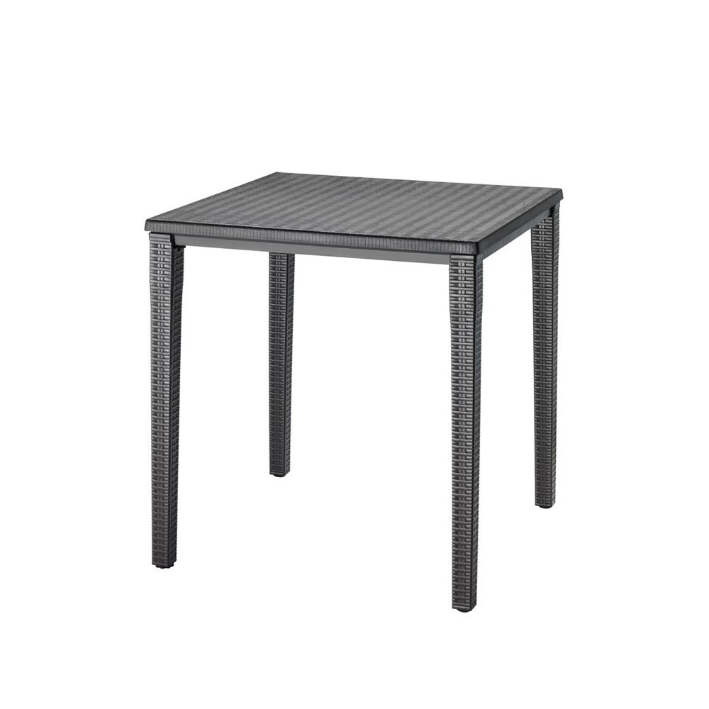 Orazio 2189 garden table in polypropylene 70x70 cm for Table exterieur 70x70