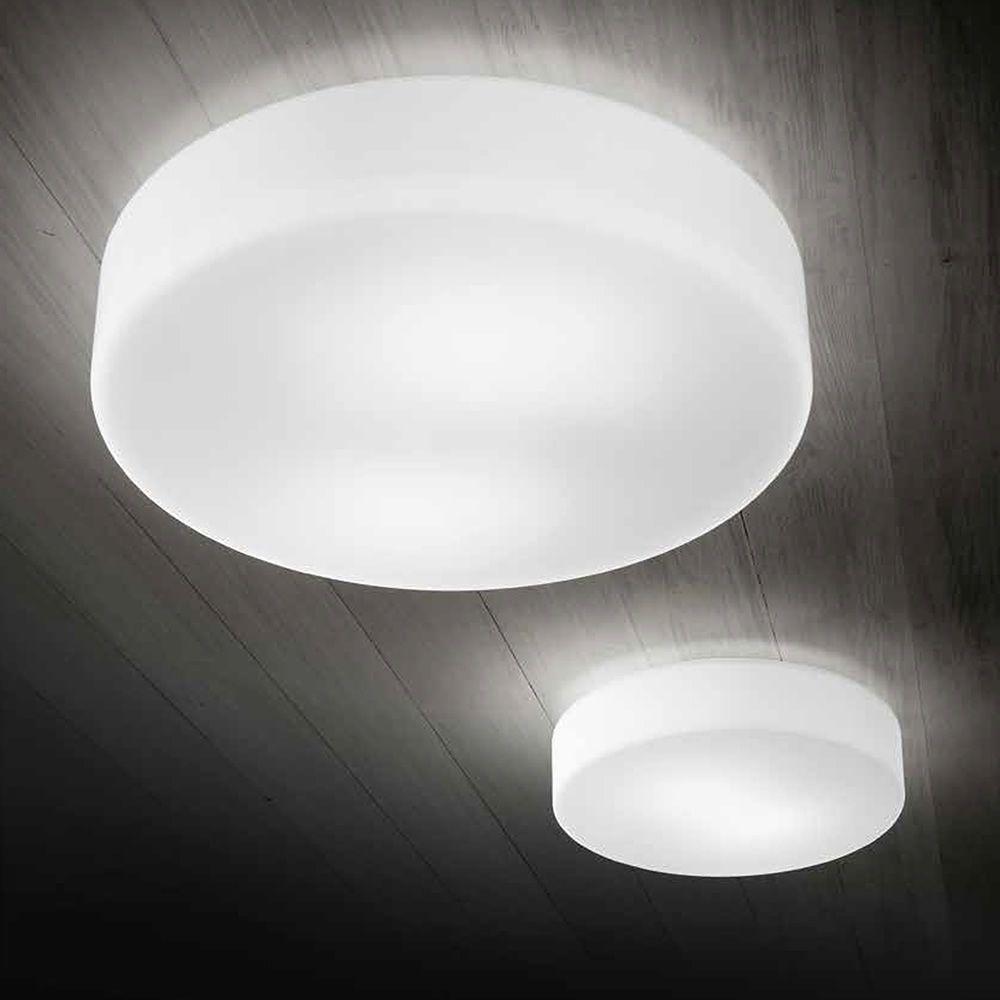 Fa3209sl lampada a soffitto o parete in vetro soffiato for Lampade a soffitto