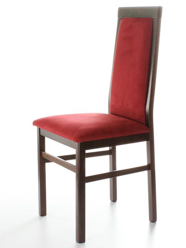 mu25 chaise moderne en bois assise et dossier. Black Bedroom Furniture Sets. Home Design Ideas