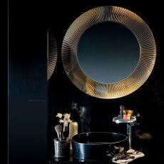 All Saints - Kartell design mirror with polymer frame, in several colours