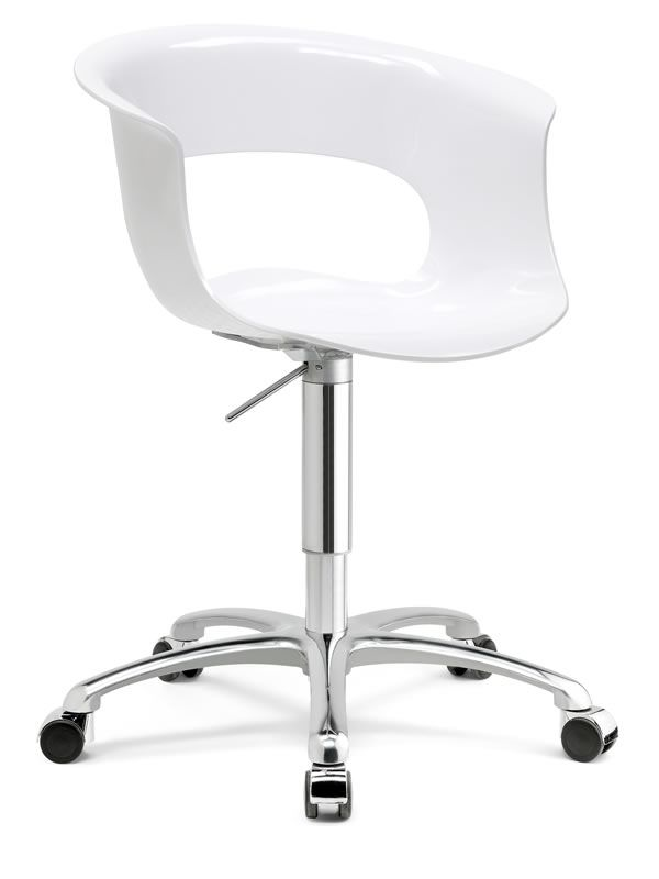Miss b office 2694 silla giratoria y regulable para for Silla oficina baquet