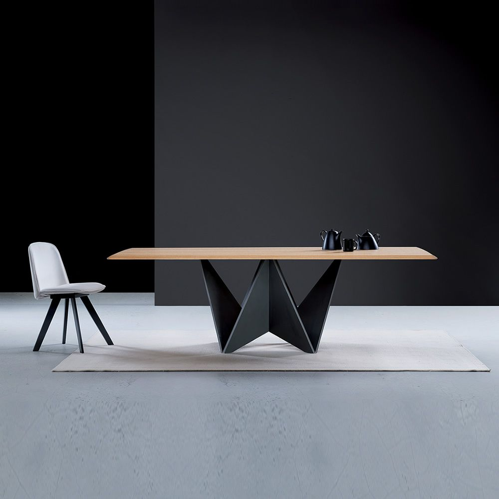 Origami tavolo moderno in legno piano in legno - Piano tavolo legno ...