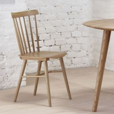Ironica - Ton chair in oak wood