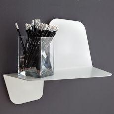 Flap Mensola - Mensola da parete in metallo, disponibile in diverse misure e colori