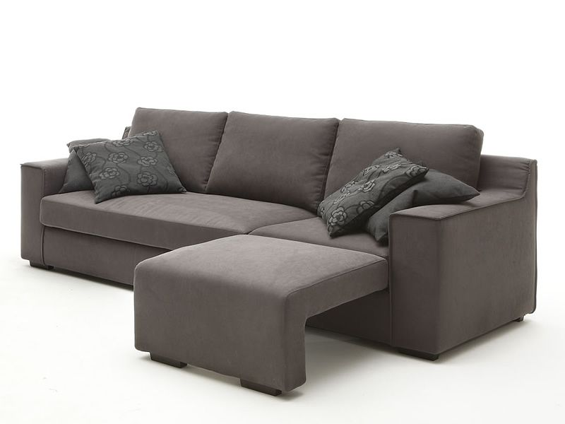 Vanity divano moderno a 2 posti 2 posti xl o 3 posti - Divano con poggiapiedi ...