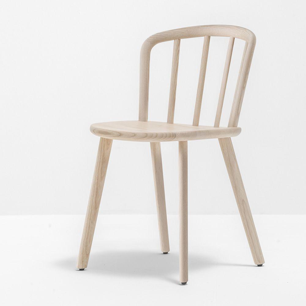 Nym 2830 sedia pedrali di design in legno di frassino for Sedia di design