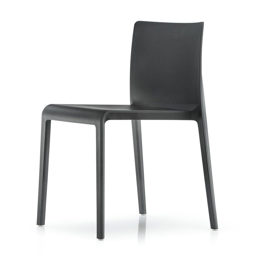 Volt 670 - Stuhl Pedrali aus Polypropylen, stapelbar, auch für ...