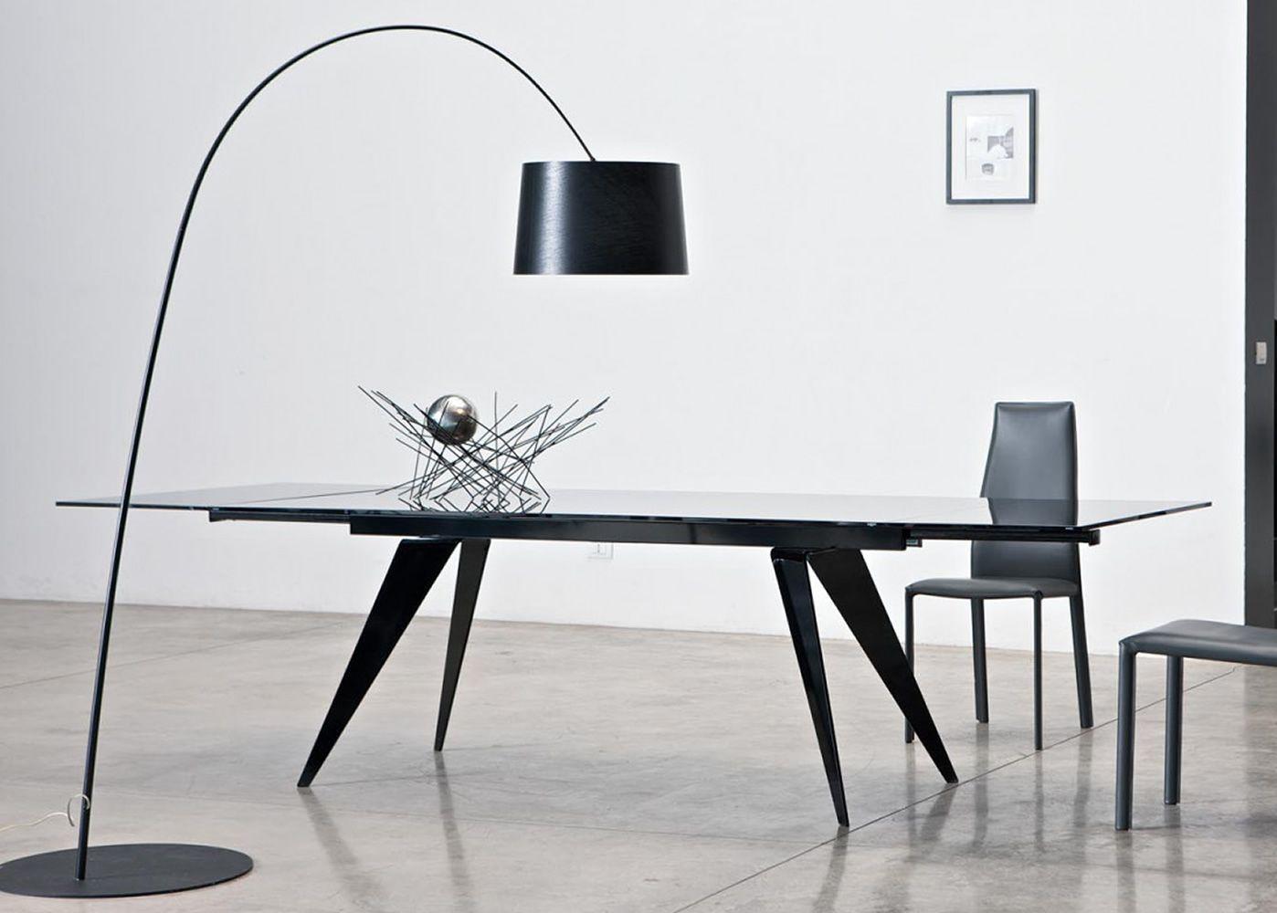 Ramos ext tavolo di design di bontempi casa in metallo for Tavolo di design in metallo