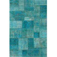 Antalya Light Blue - Moderno tapete de lana pura virgen, varias medidas