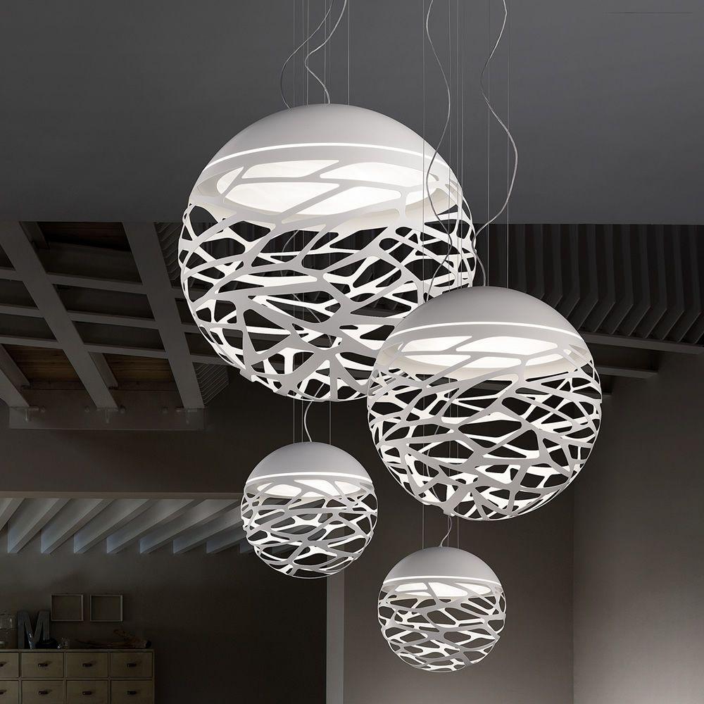 Kelly Sphere - Lampada a sospensione di design, in metallo ...
