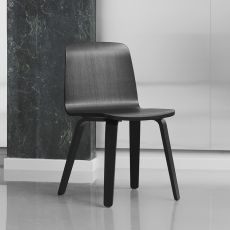 Just W - Normann Copenhagen veneered wooden chair, different finishes available