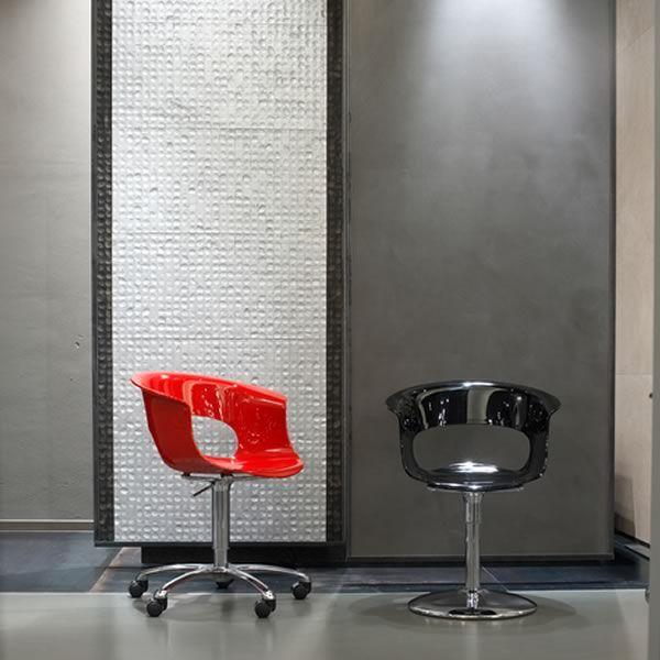 Sc2692 miss b up silla giratoria y regulable para oficina for Asientos para oficina