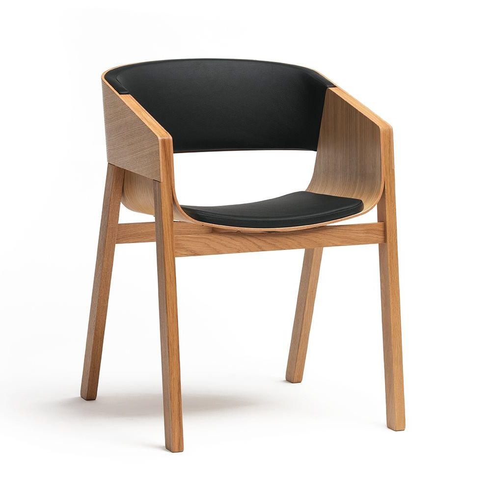 Merano 400 R   Designer Stuhl Aus Eichenholz, Mit Bezug Aus Kunstleder In  Der Farbe ...