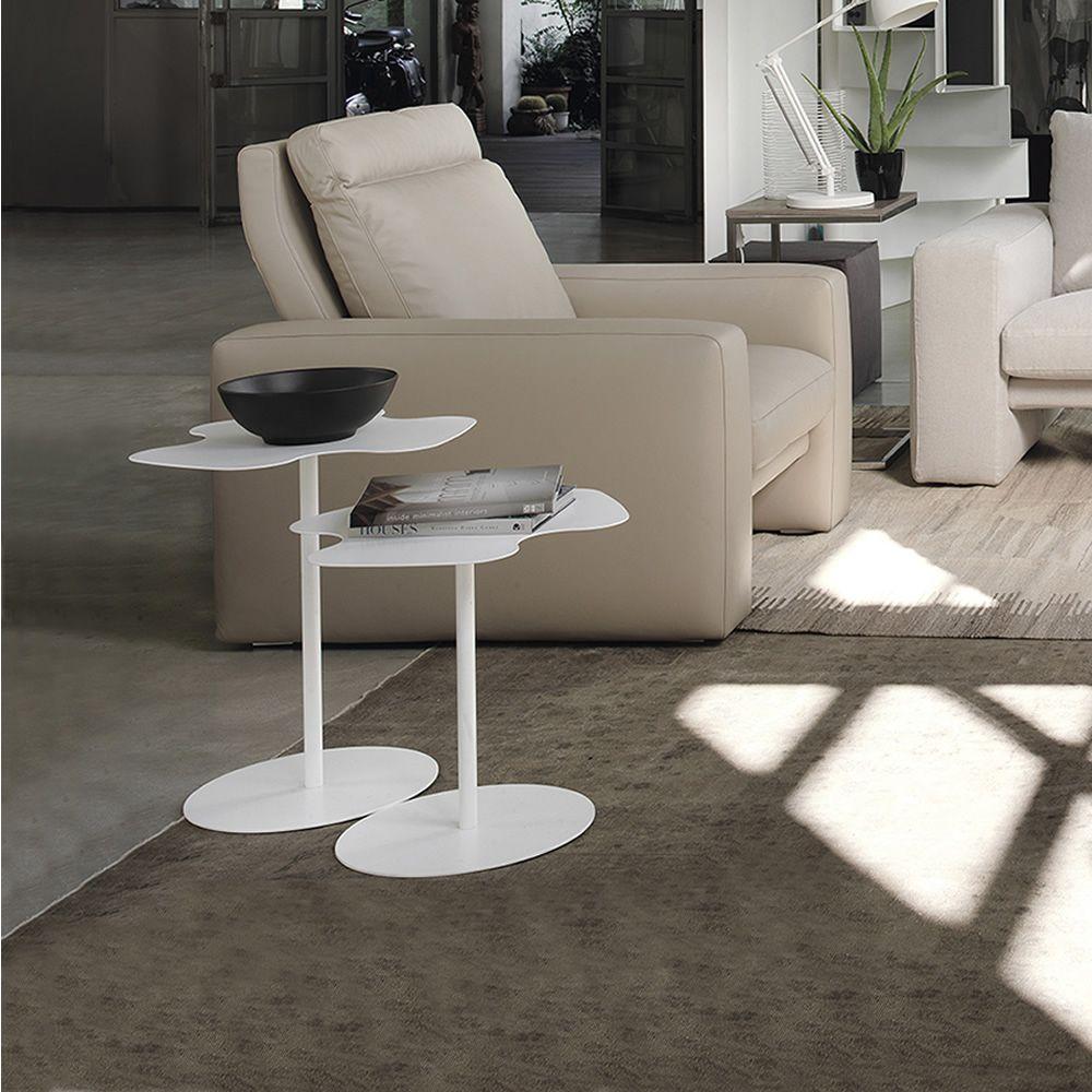 flower designer beistelltisch bontempi casa aus metall. Black Bedroom Furniture Sets. Home Design Ideas