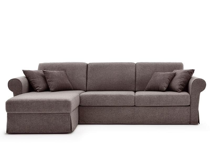 Lory divano letto classico a 2 o 3 posti maxi con for Chaise longue divano