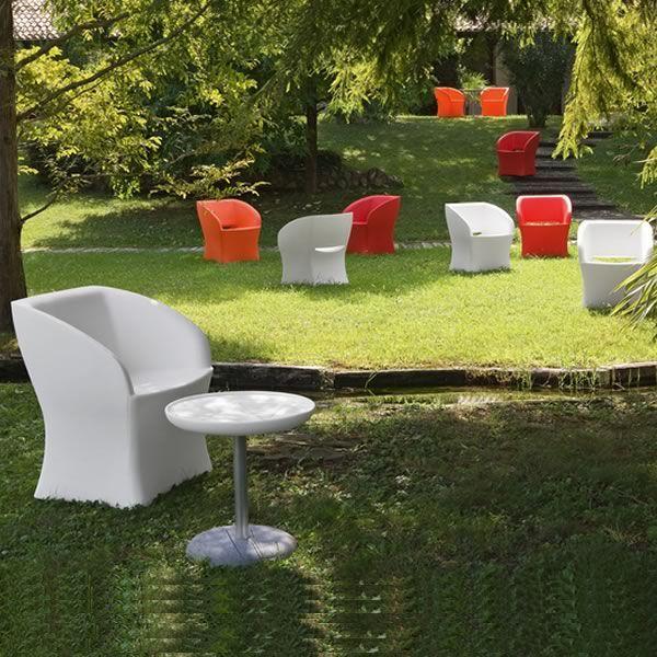 Sunrise poltrona design per esterno di tonon in diversi for Poltrone giardino