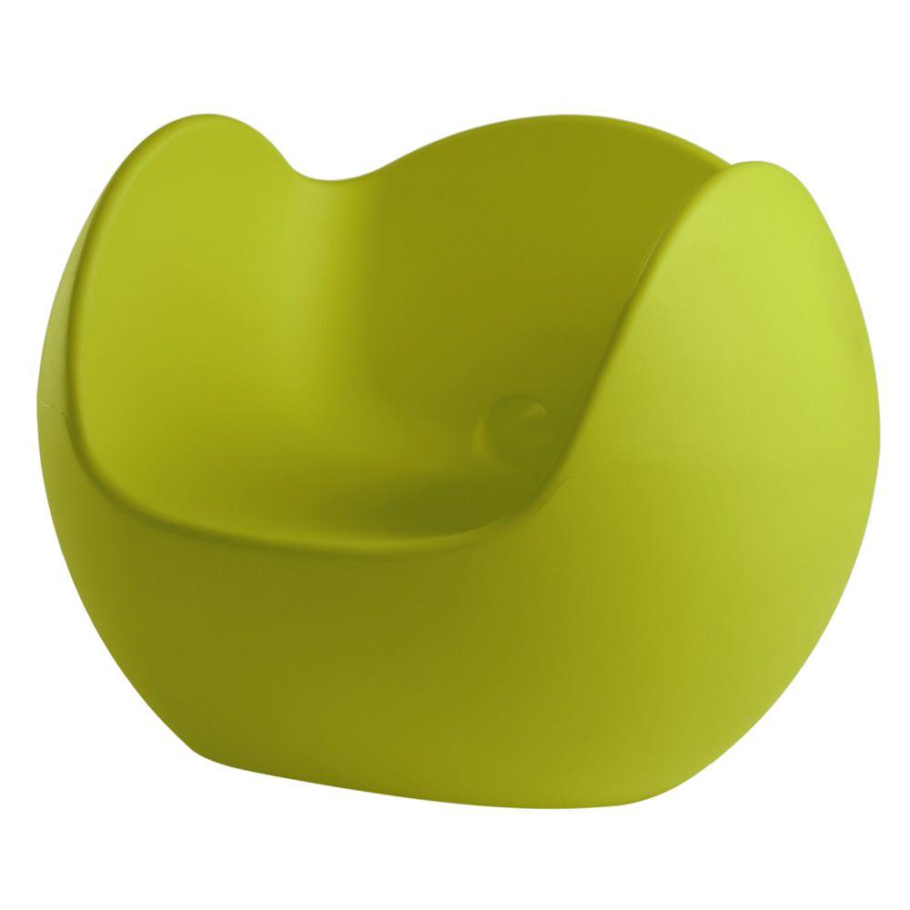 blos sessel slide aus polyethylen auch mit
