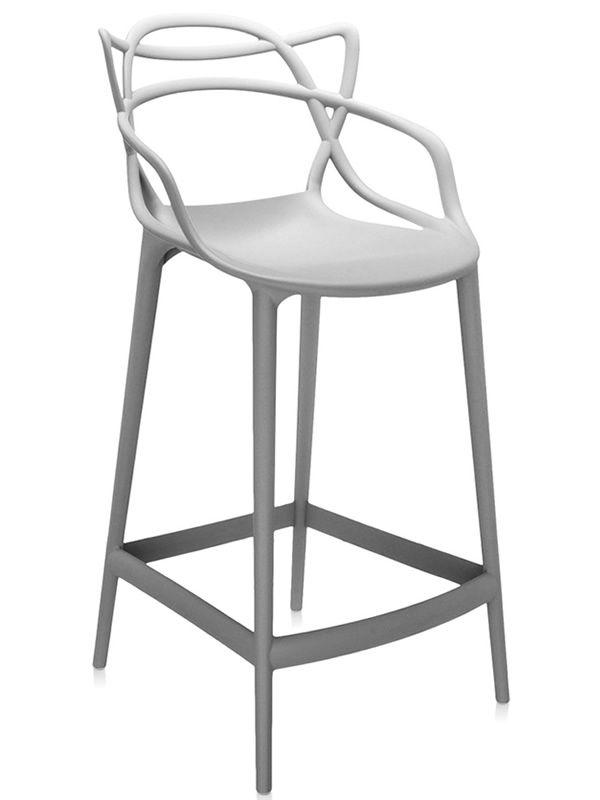 Masters stool - Sgabello Kartell di design, in polipropilene ...