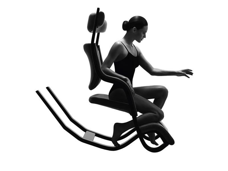 Gravity balans gravity balans ergonomic chair by vari r available in several colours - Varier gravity balans ...
