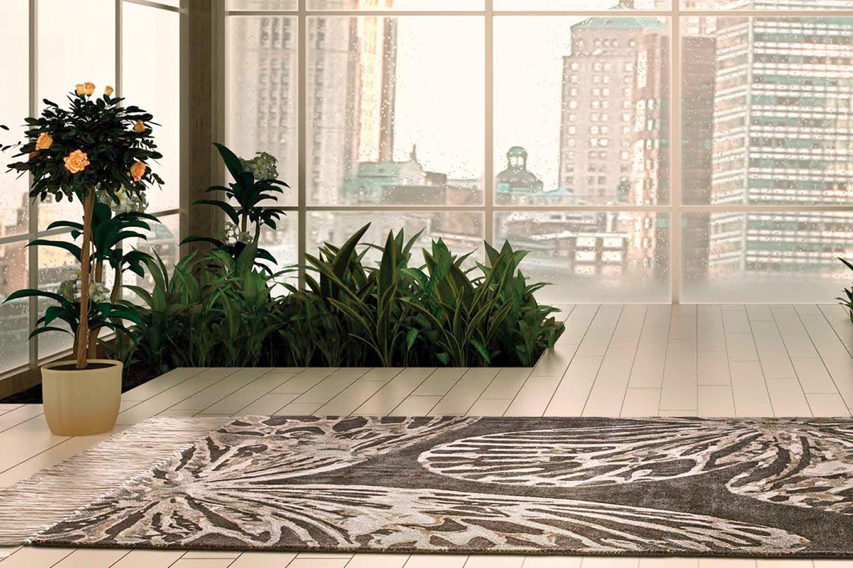 Vanessa - Tappeto design in seta vegetale, disponibile in diverse ...