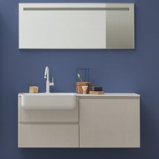 Lapis E - Sink cabinet with drawers, available in several colours