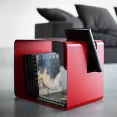 Libris - Tavolino, comodino o portariviste dal pratico design, disponibile in diversi colori.