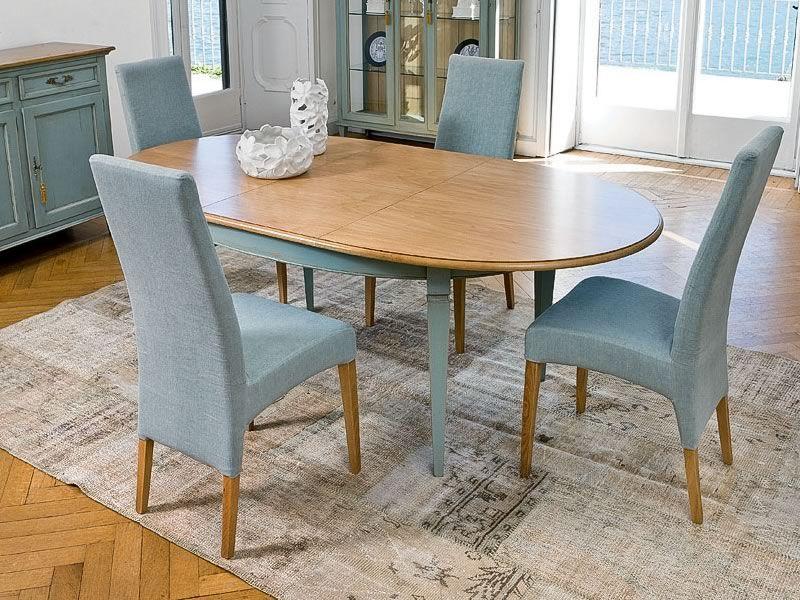 1126 Apogeo Impero Table classique en bois de Tonin Casa, différentes couleu