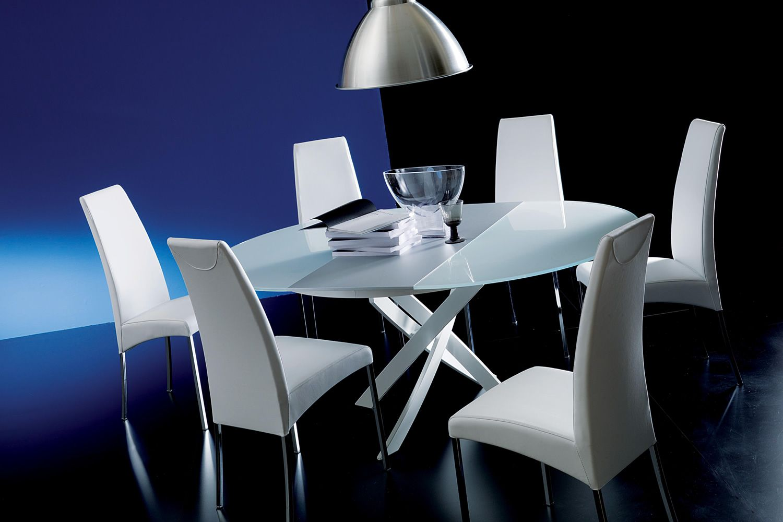 aida gepolsterter stuhl bontempi casa aus metall mit verschiedenen bez gen verf gbar sediarreda. Black Bedroom Furniture Sets. Home Design Ideas