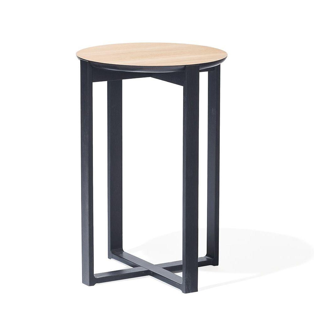 delta coffee 722 runder beistelltisch ton aus holz. Black Bedroom Furniture Sets. Home Design Ideas