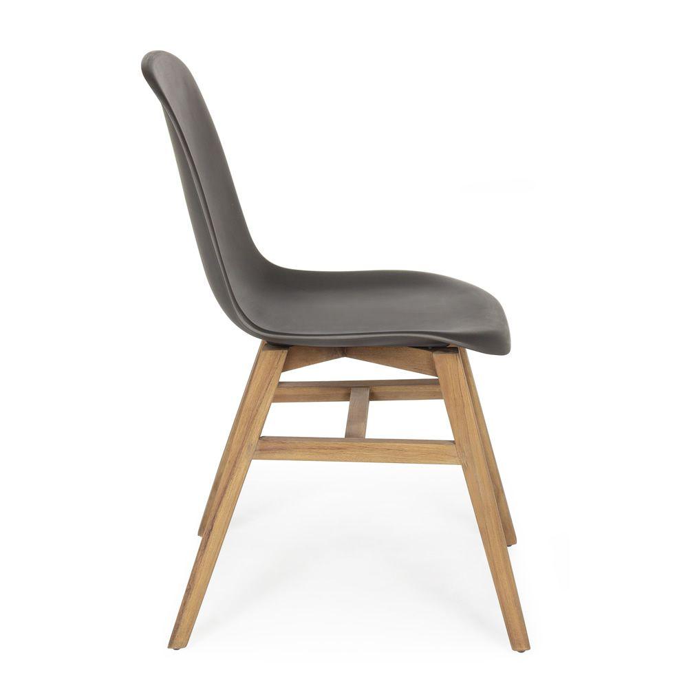 sila chaise en teck avec l 39 assise en fibre de verre id ale pour le jardin sediarreda. Black Bedroom Furniture Sets. Home Design Ideas